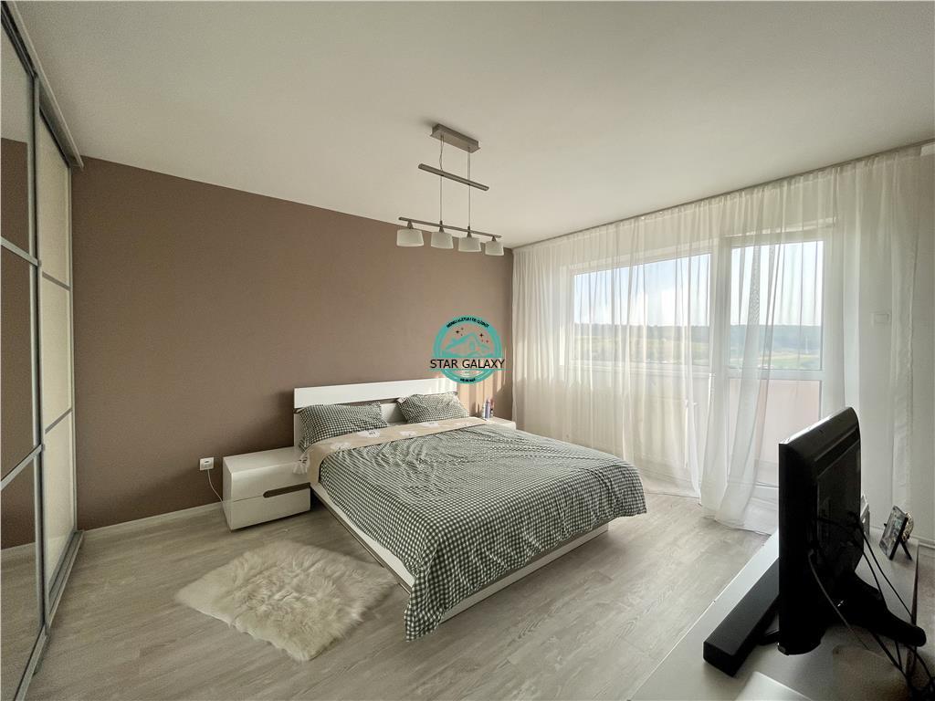 Vanzare apartament cu 3 camere, amenajat modern, in Dambu