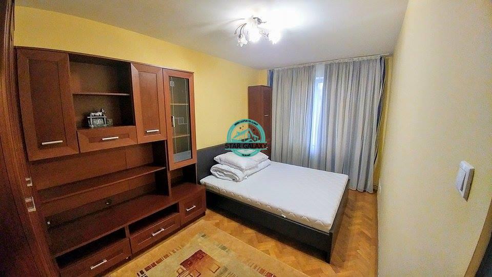 Inchiriez apartament cu 2 camere modern mobilat, zona ultracentrala