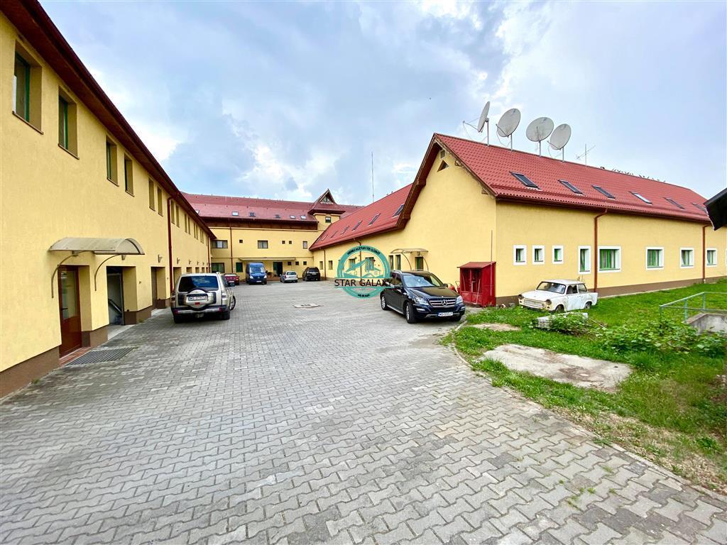 Inchiriez Motel in Gaiesti cu 50 camere, restaurant, parcare Tiruri