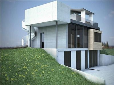 Casa in semifinisata cu 4 camere de vanzare, zona Platou Cornesti