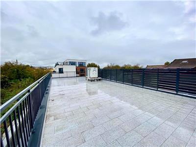 Inchiriez spatiul comercial 90 mp cu terasa de 90mp, constructie 2020